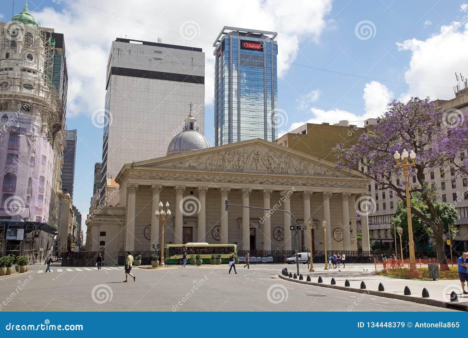 Catedral metropolitana de Buenos Aires, la Argentina