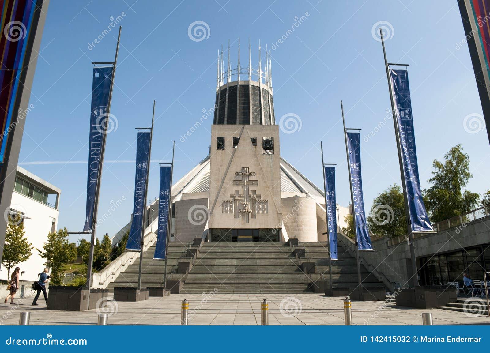Catedral metropolitana de Liverpool, Liverpool, Reino Unido