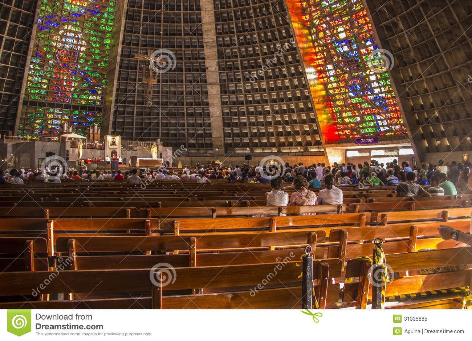 Catedral metropolitana de San Sebastián - Rio de Janeiro