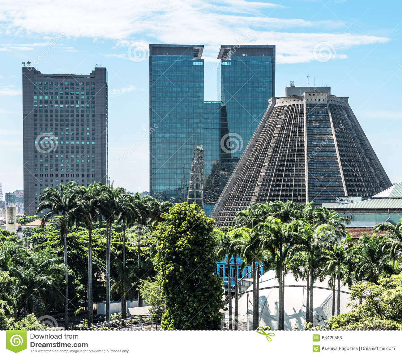 Catedral metropolitana en Río
