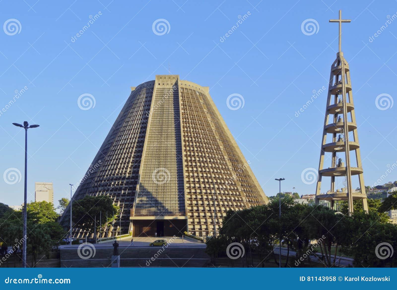 Catedral metropolitana en Rio de Janeiro