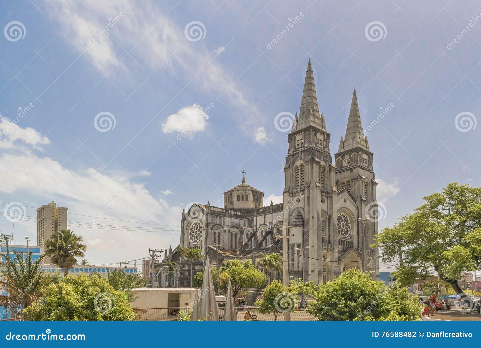 Catedral metropolitana Fortaleza el Brasil