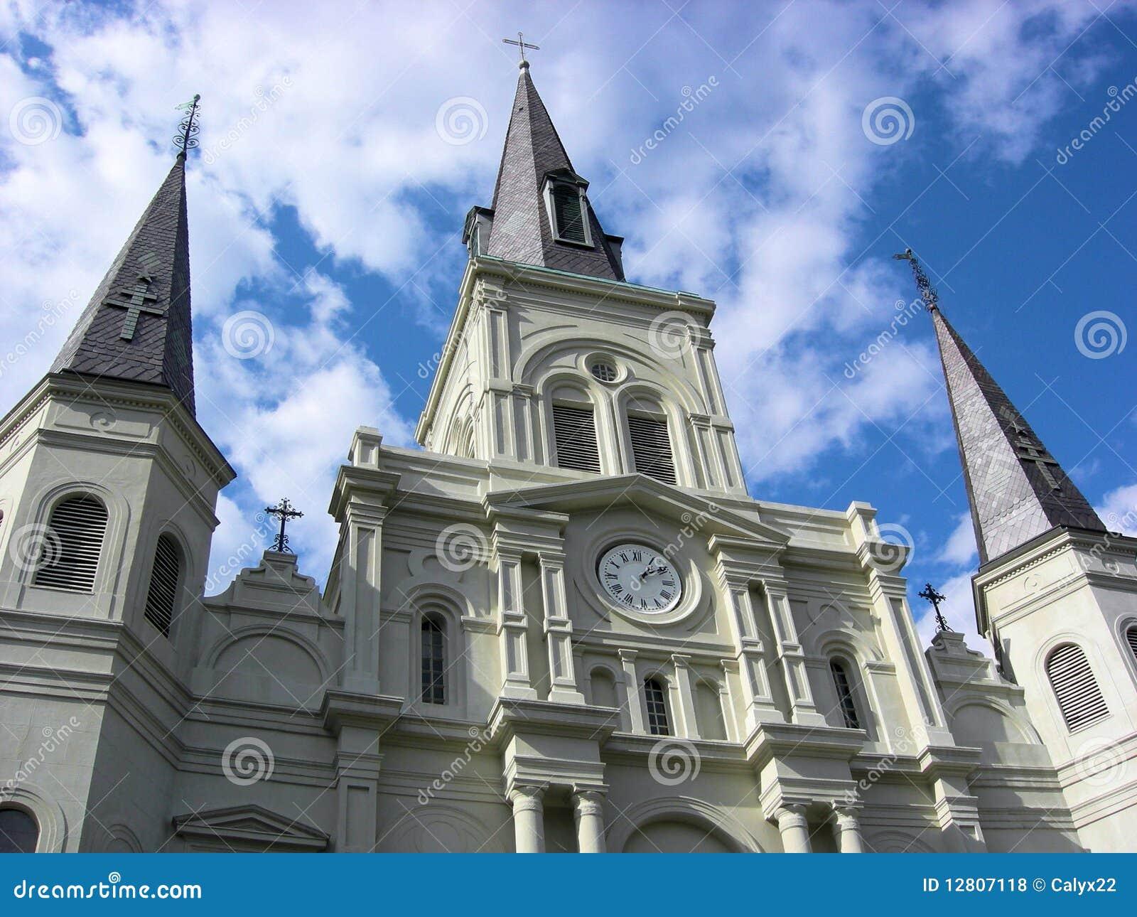 Catedral Nova Orleães de St Louis