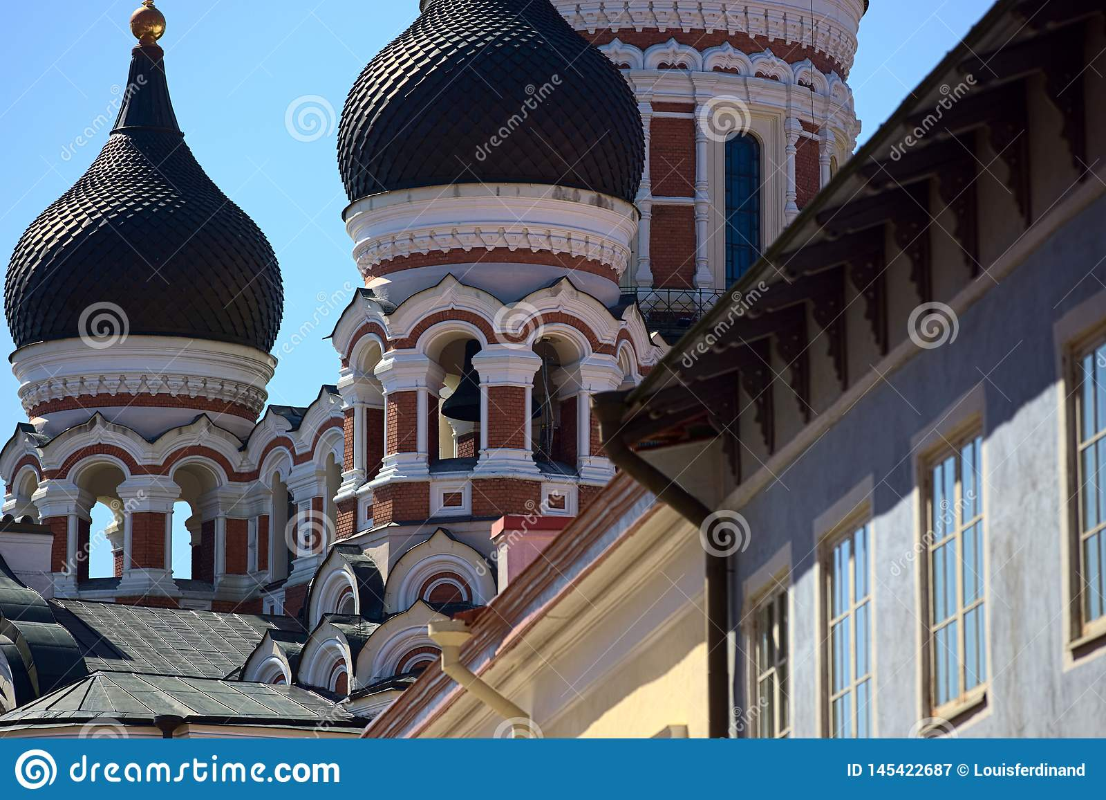 Catedral ortodoxa de Alexander Nevksy en Tallinn, Estonia