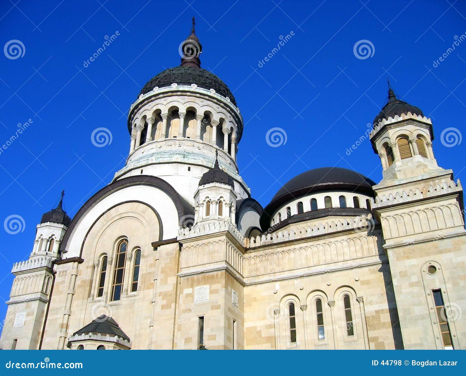 Catedral ortodoxa en Cluj-Napoca, Rumania