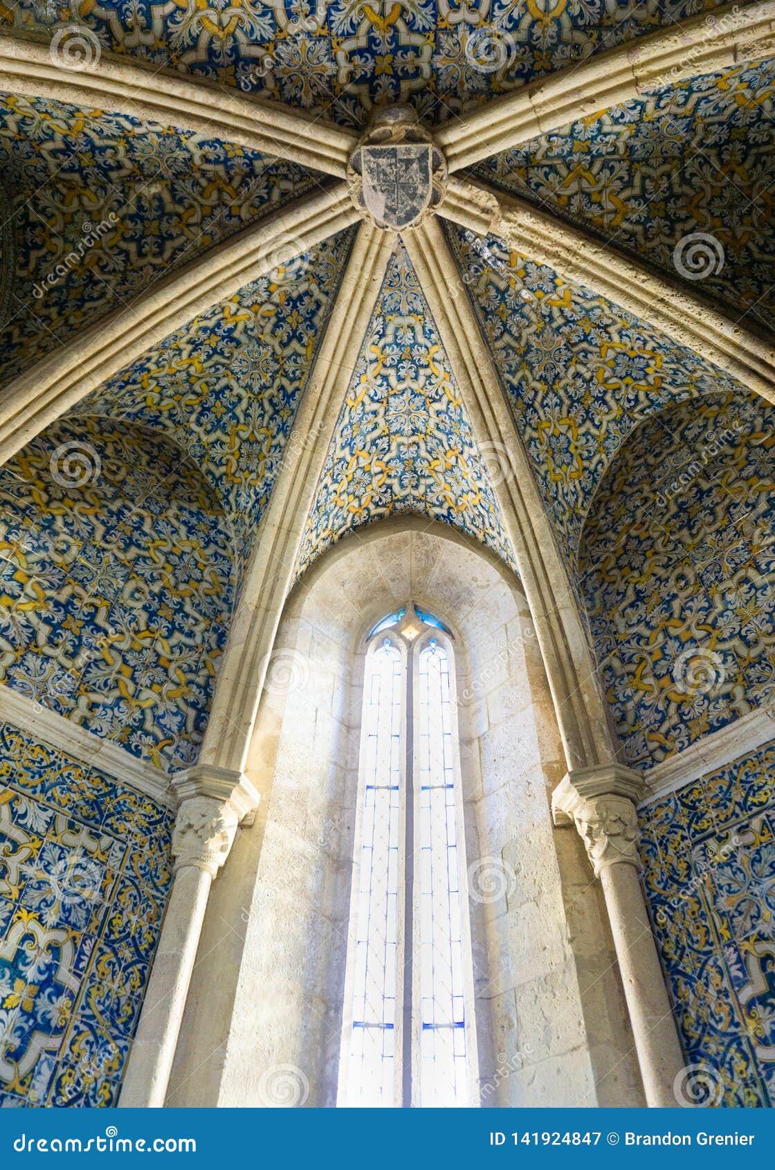 Catedral principal portuguesa Igreja de Santa Maria de Faro Portugal dos azulejos