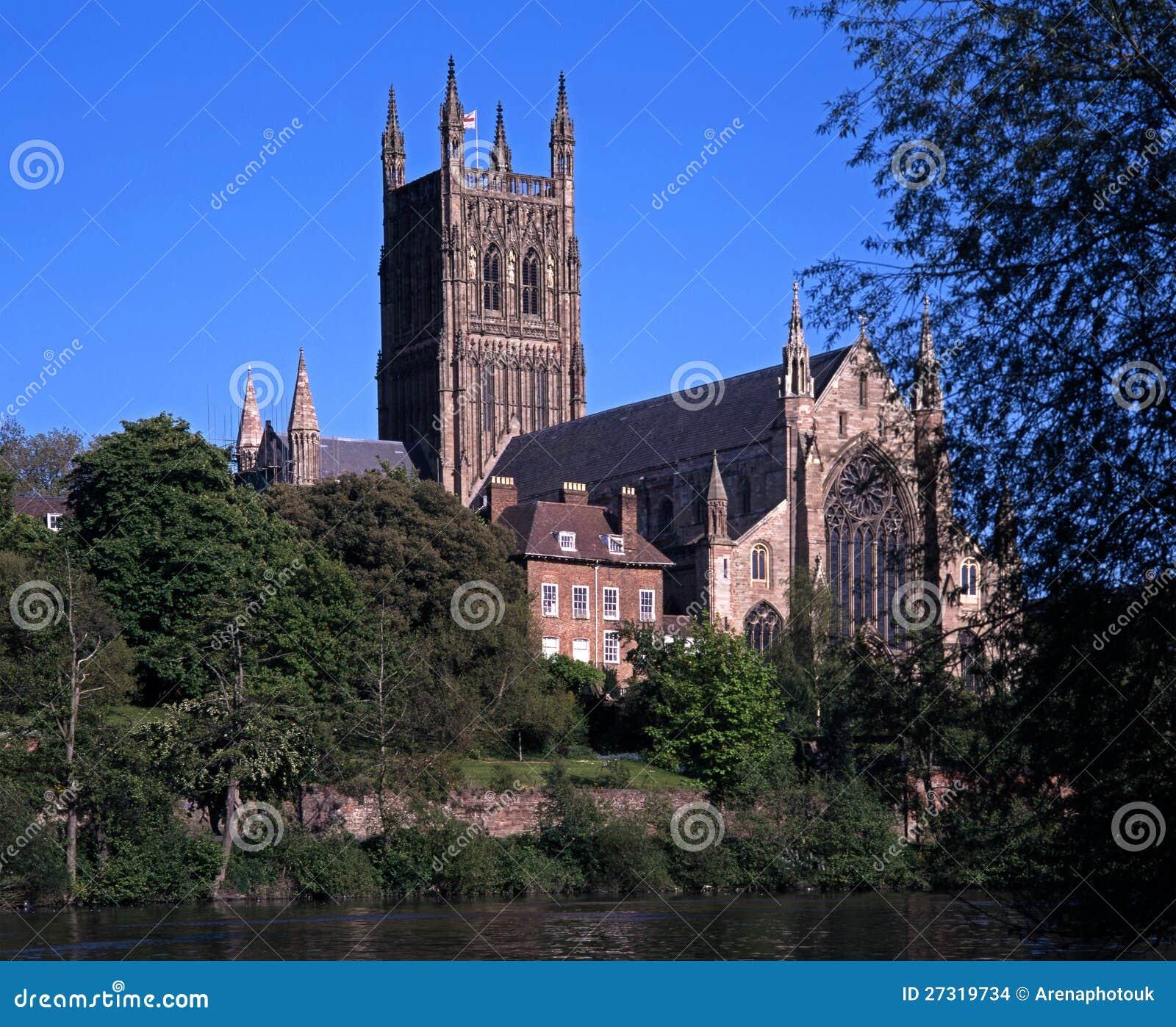 Catedral, Worcester, Reino Unido.
