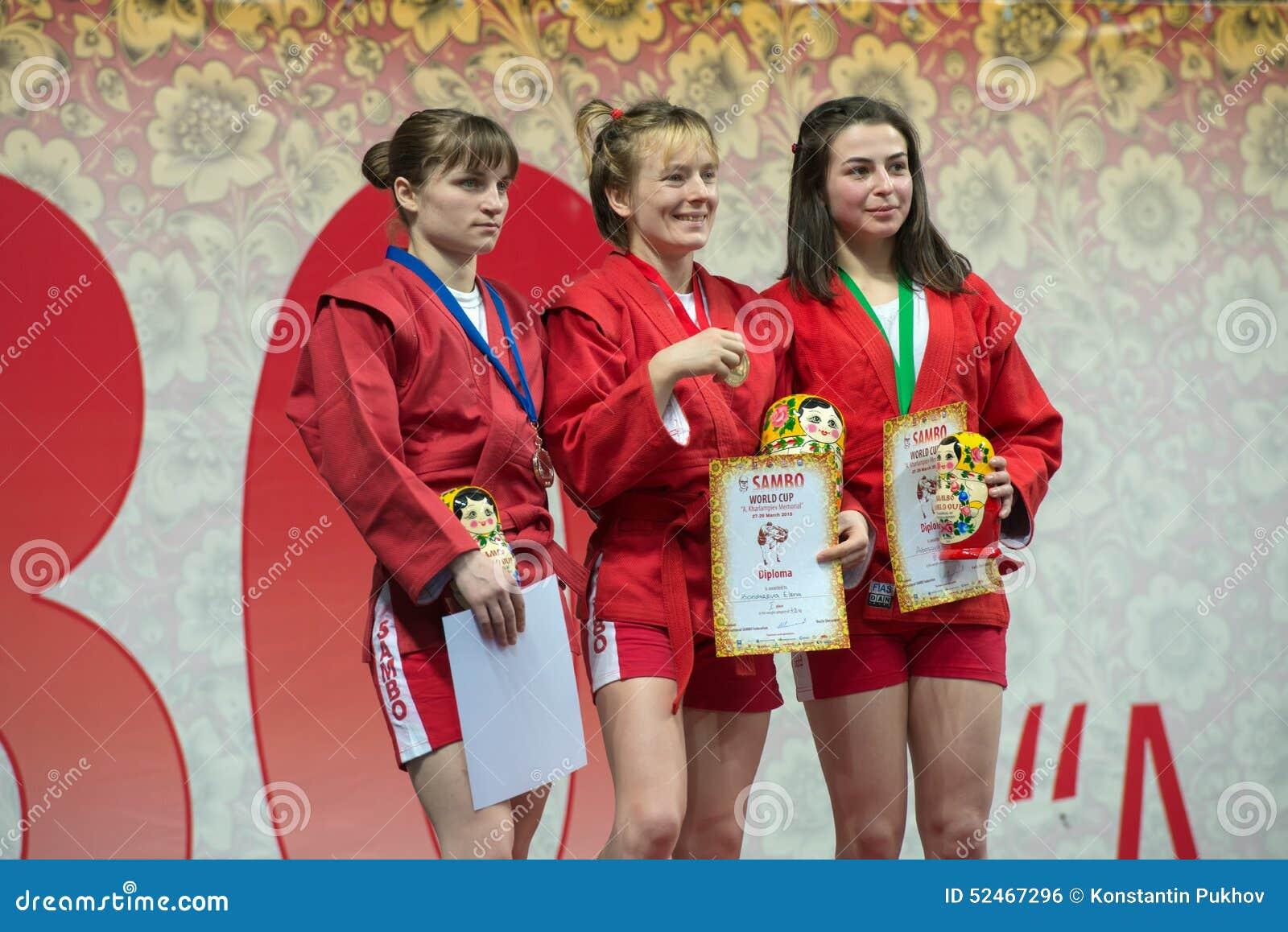 Categoría de los ganadores de mujeres 48 kilogramos