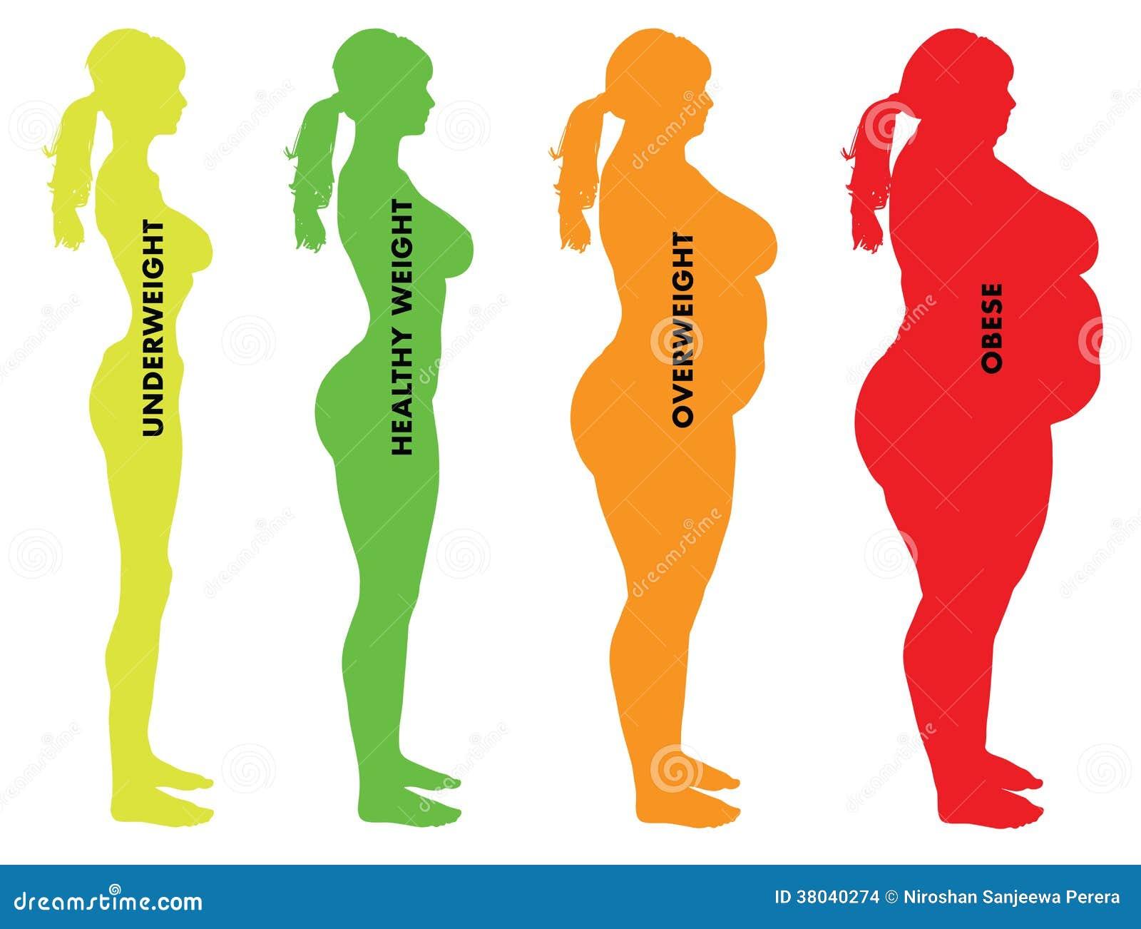 indice di massa corporea donne