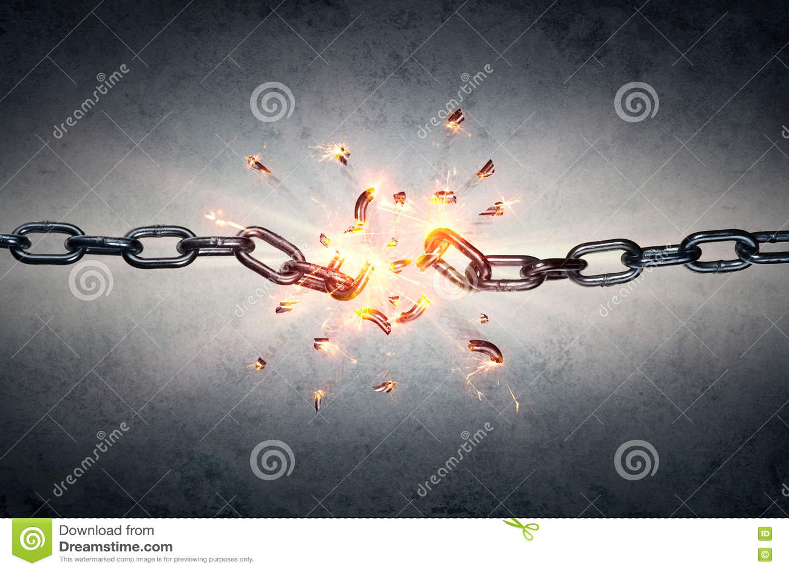 Catena rotta - libertà e separazione