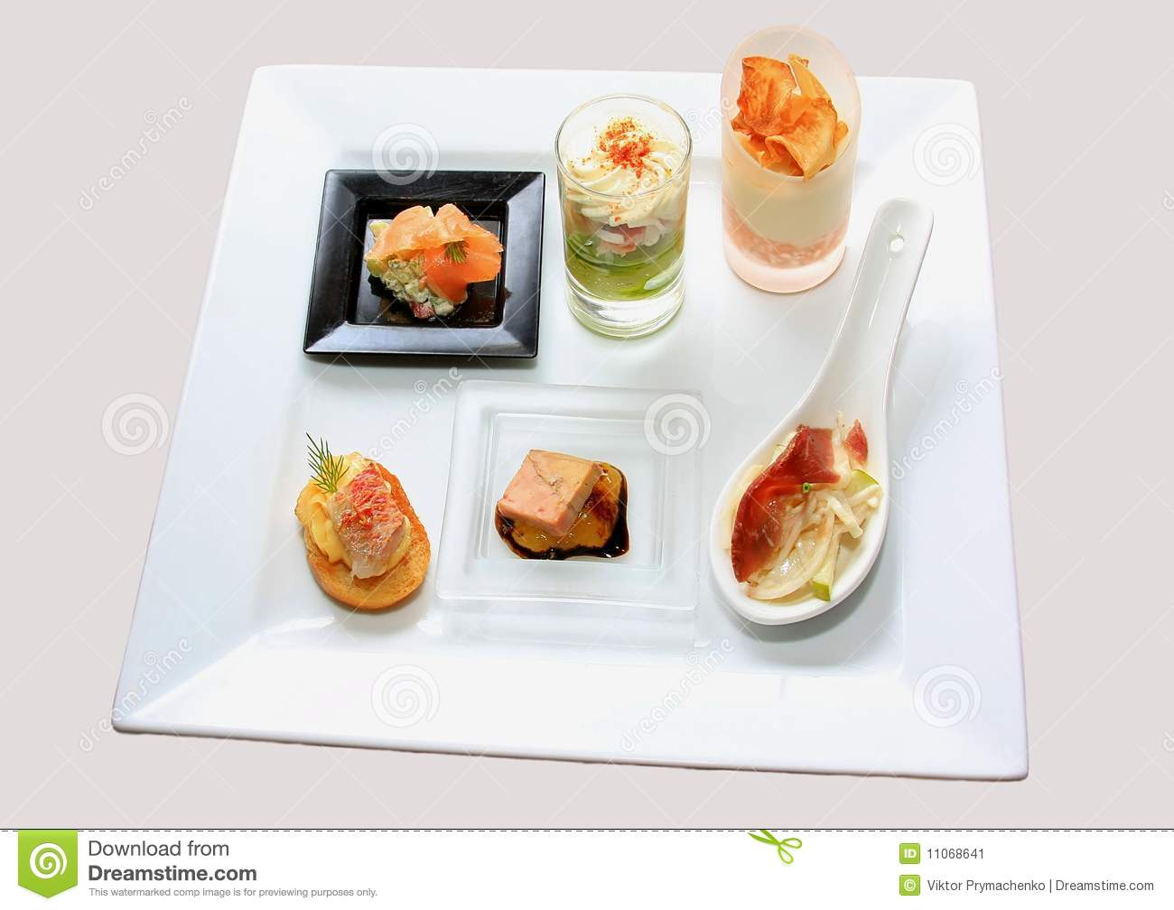 Catering canape stock image image 11068641 for Canape catering