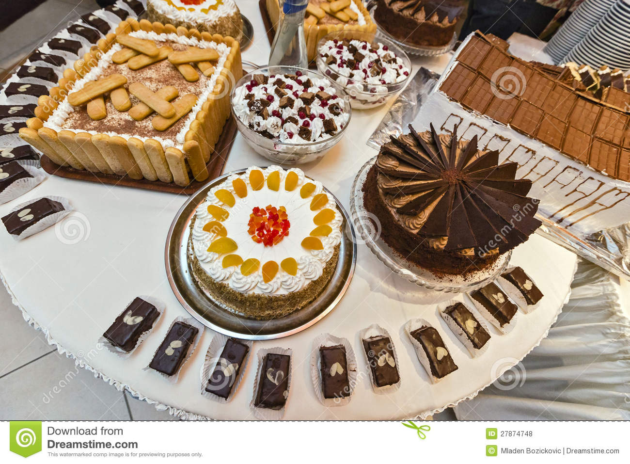 Catering Desserts Stock Photo Image Of Catering