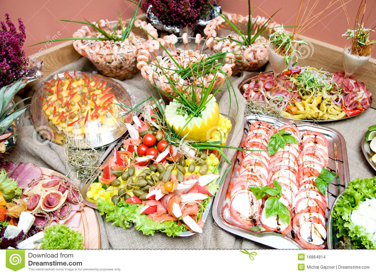 Catering Food Stock Images - Image: 16864814