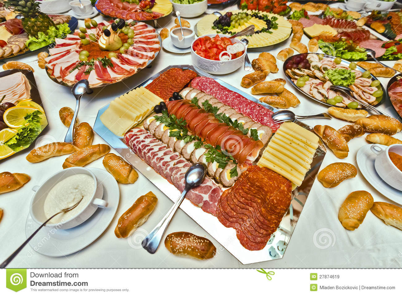 Catering Food Royalty Free Stock Images Image 27874619