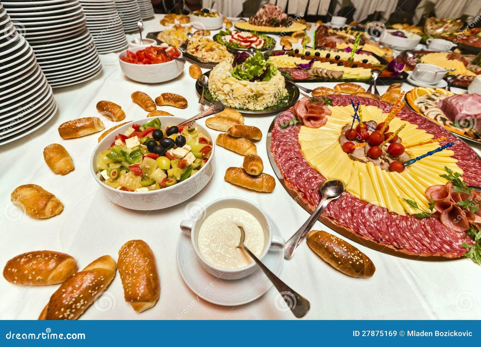 Soul Food Buffet Menu