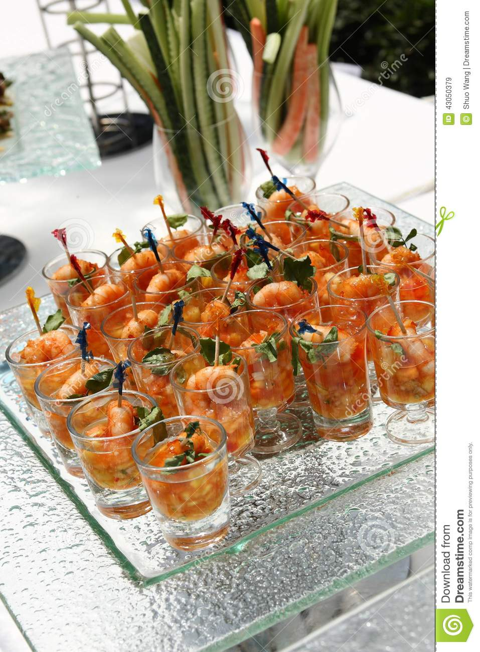 Catering food stock photo image 43050379 for Meal outdoors