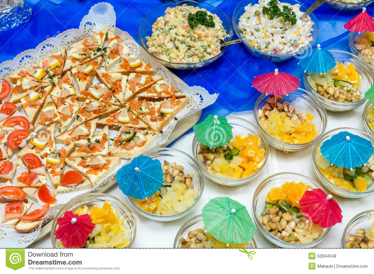 some helpful ideas on indispensable elements in party food catering