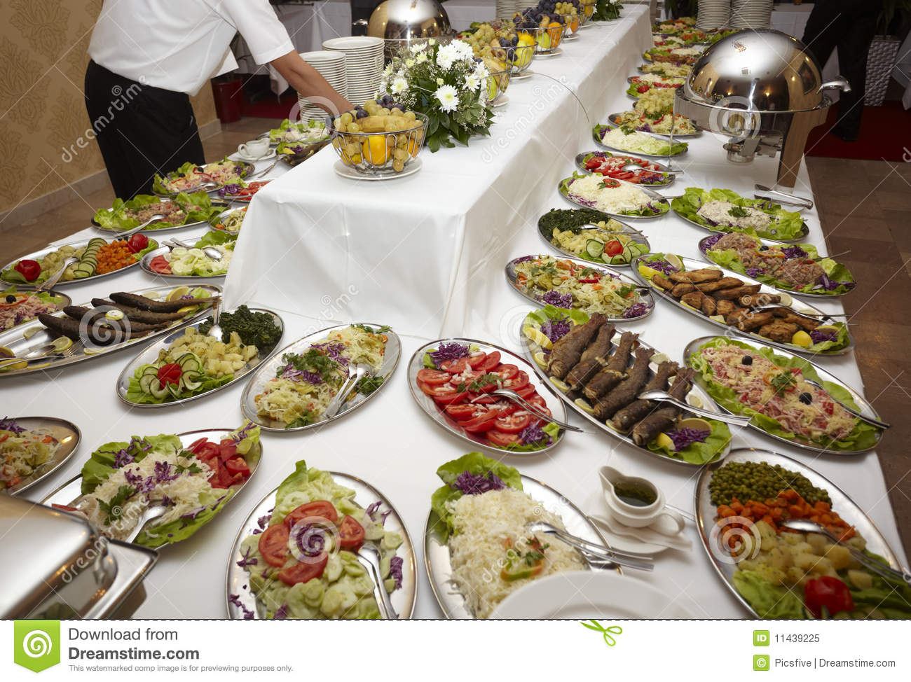 Catering food restaurant cuisine royalty free stock photo for Cuisine restaurant
