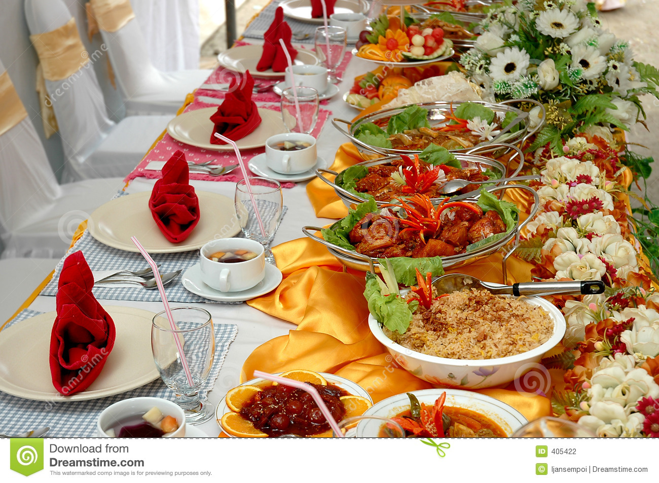 Catering Foods Stock Photography Image 405422