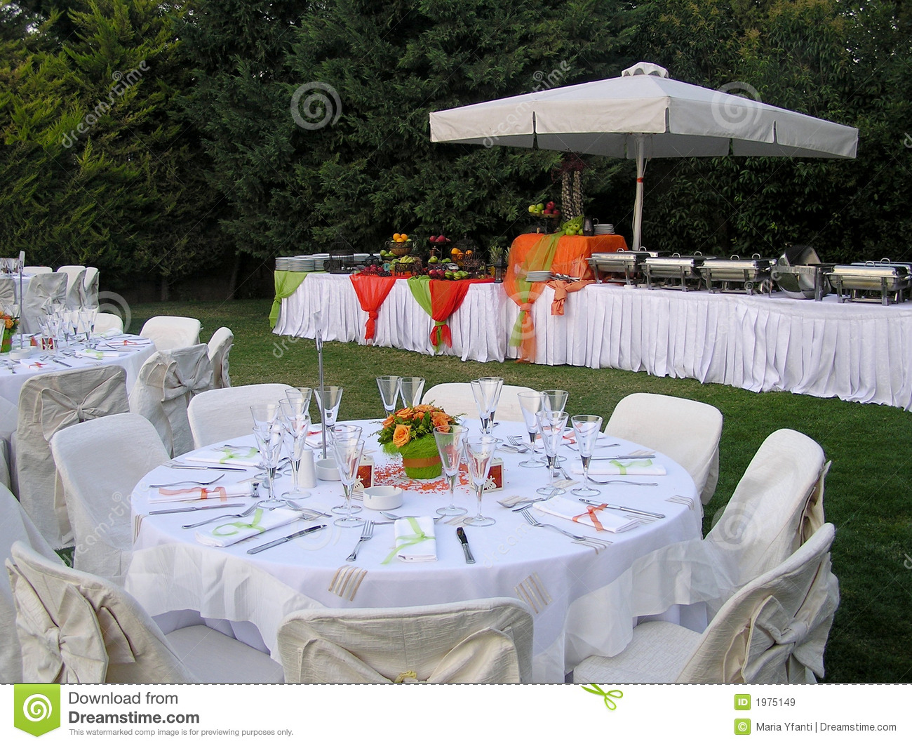 Catering Reception Setup Stock Image Of Dining