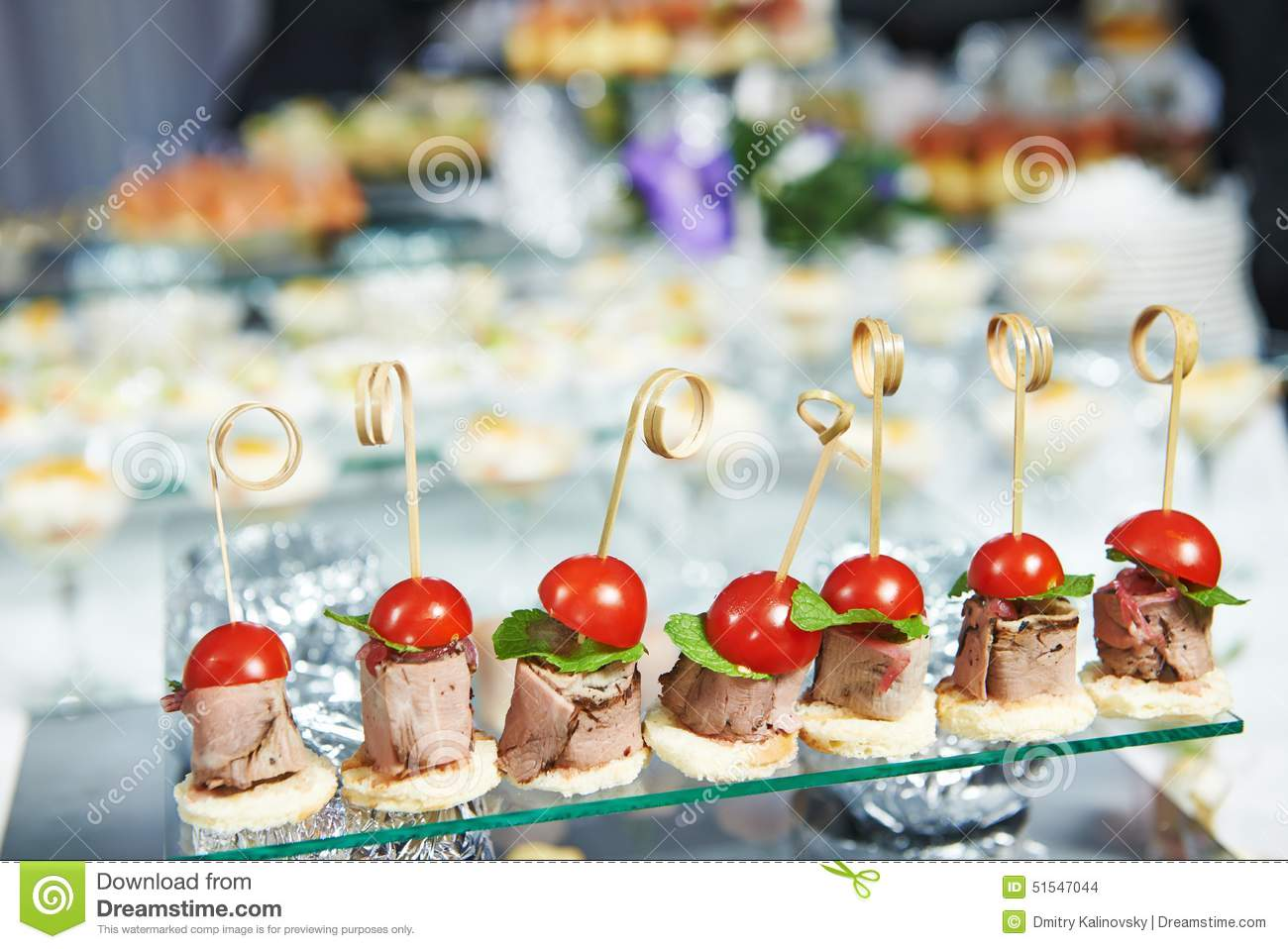 Food service and event catering