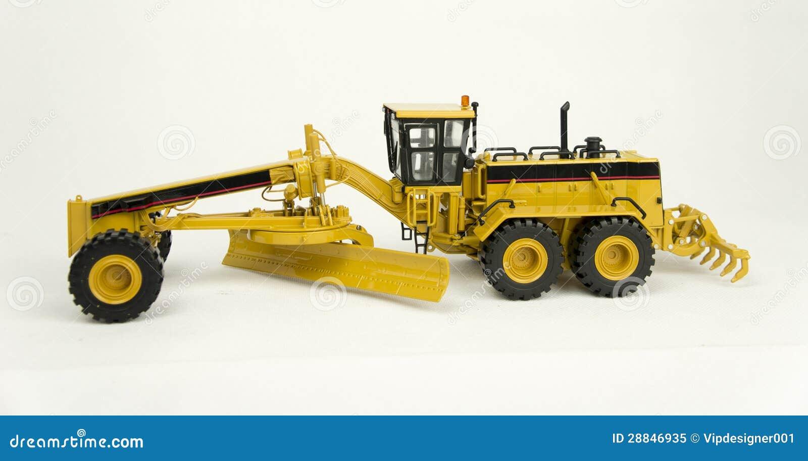 Caterpillar 24h motor grader model stock image image of for Cat 24h motor grader