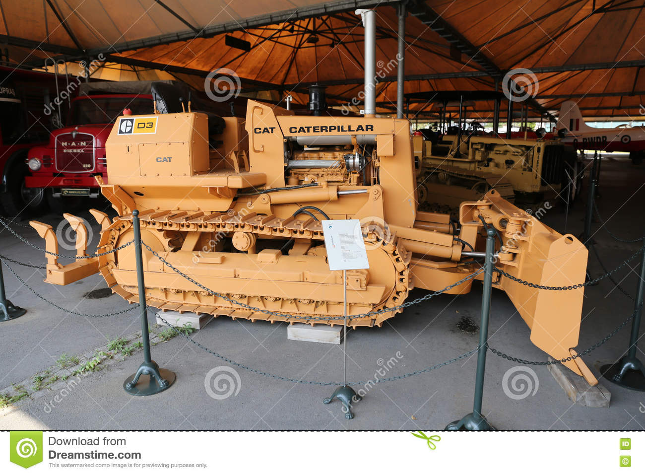 Caterpillar D3 Agricultural Tractor With Rubber Tracks ...