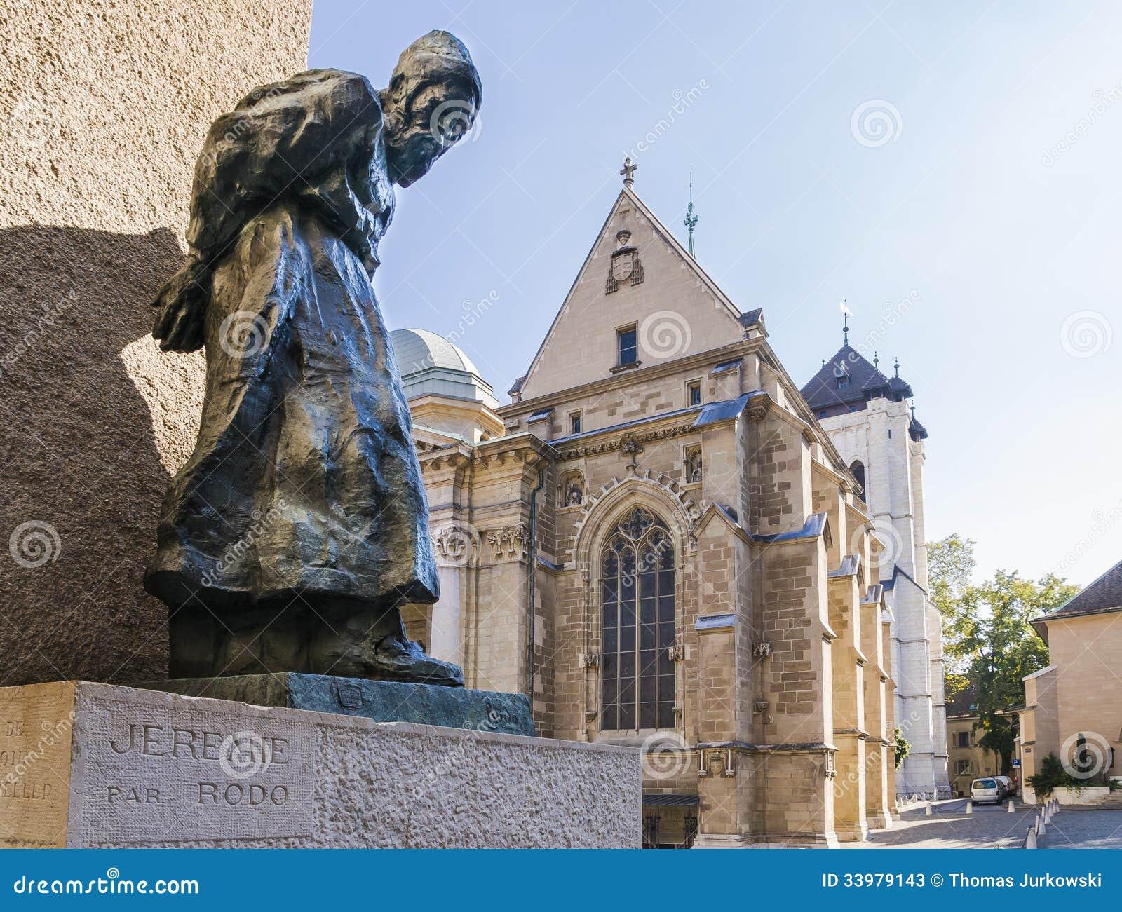 Cathédrale à Genève