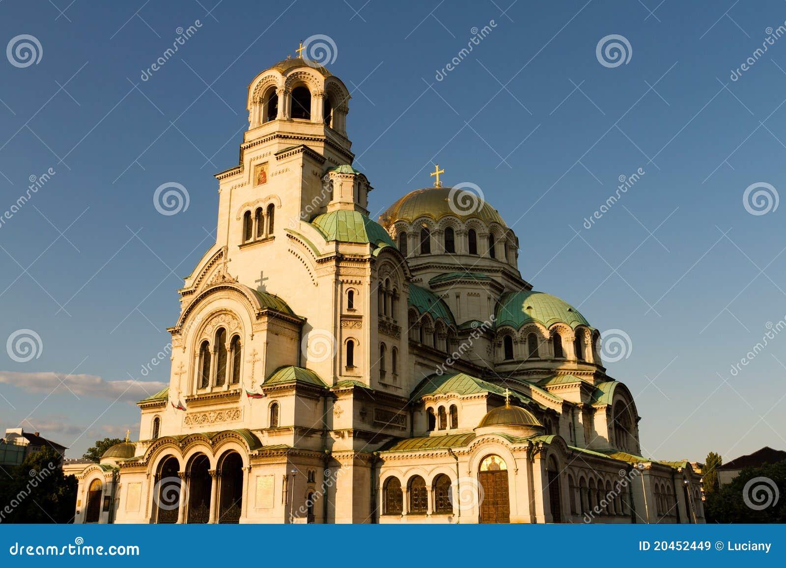 Cathédrale d Aleksandar Nevski