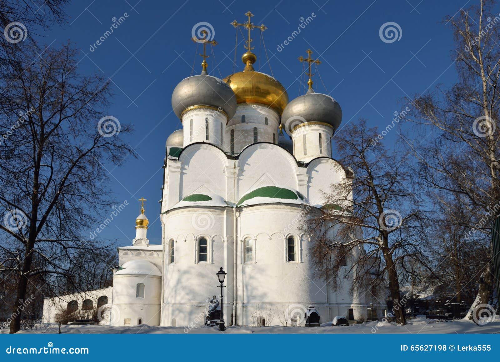 Cathédrale d icône de Smolensk de notre Madame de couvent de Novodevichy