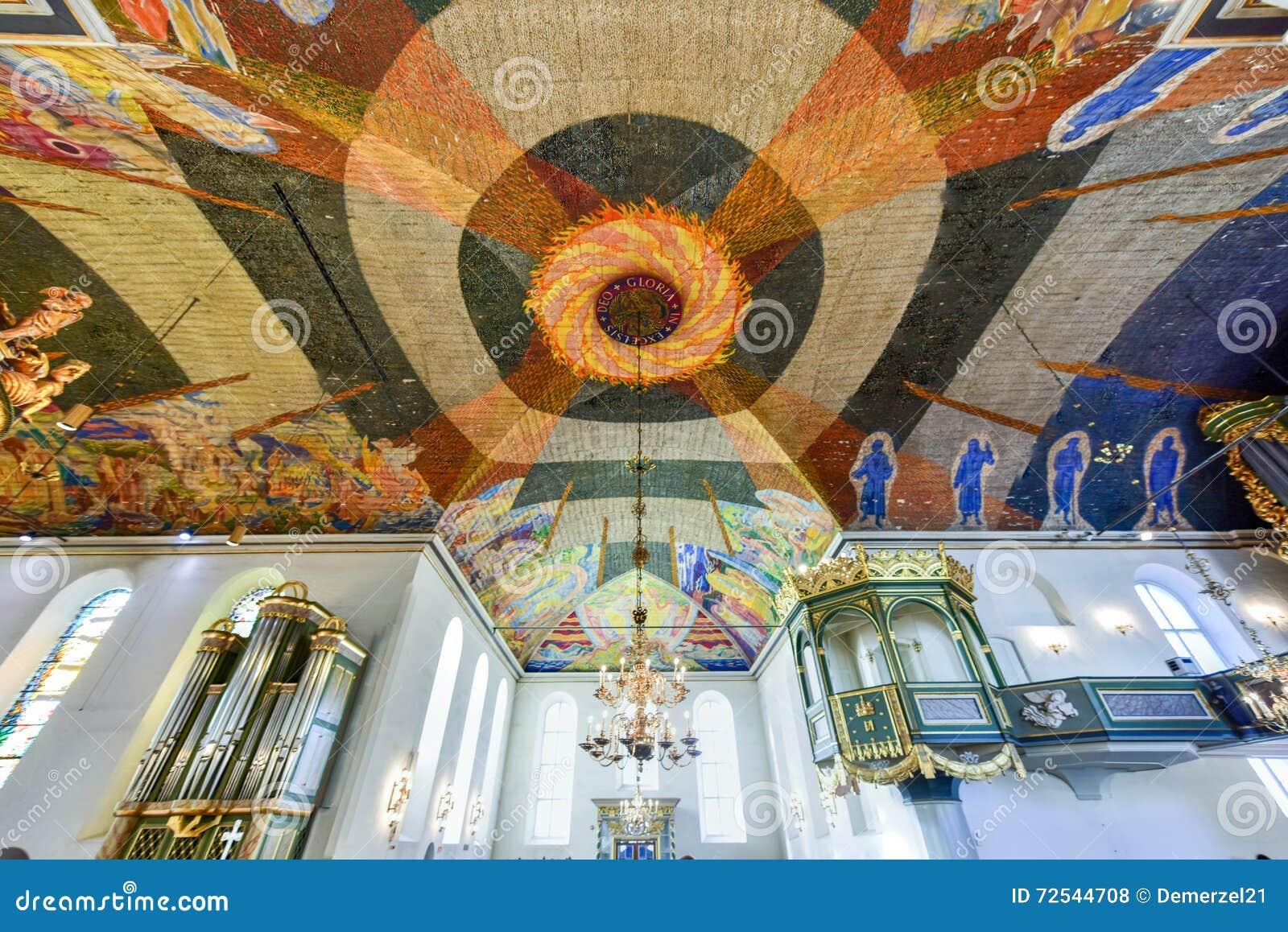 Cathédrale d Oslo - Norvège