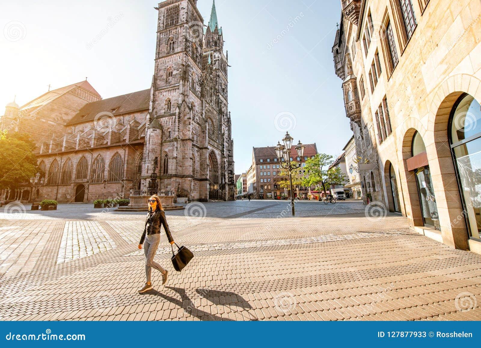 Cathédrale dans Nurnberg, Allemagne