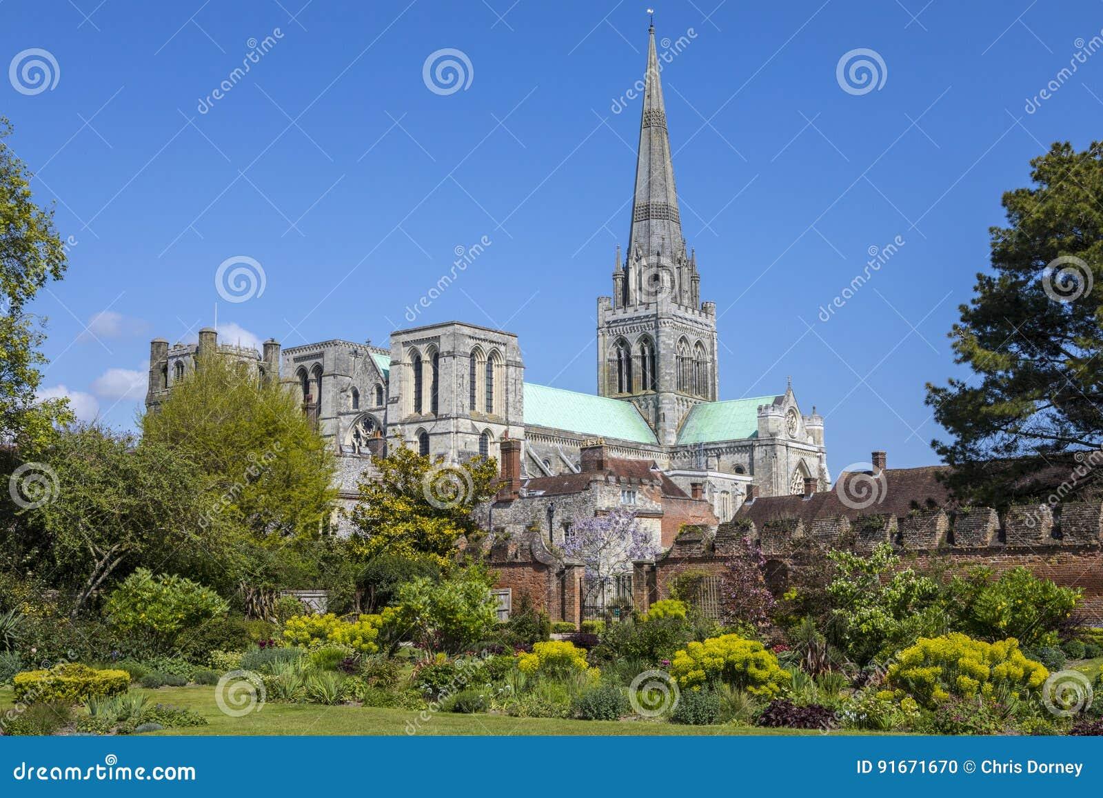 Cathédrale de Chichester dans le Sussex