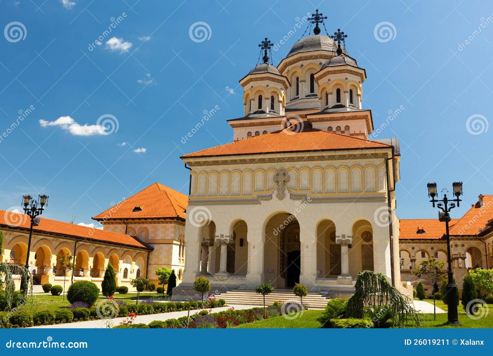 Cathédrale de couronnement dans Iulia alba, Roumanie