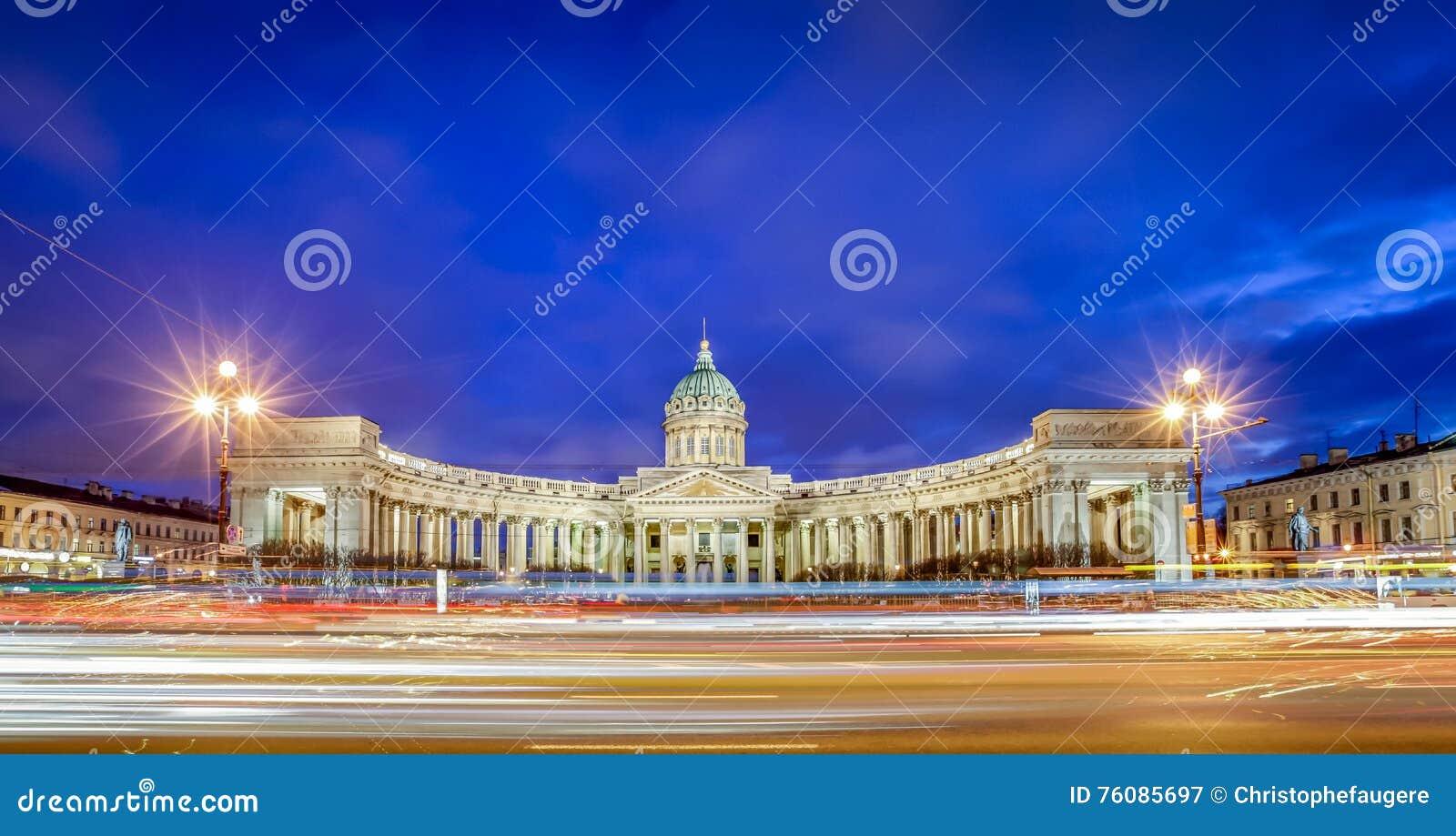 Cathédrale de Kazan, St Petersbourg