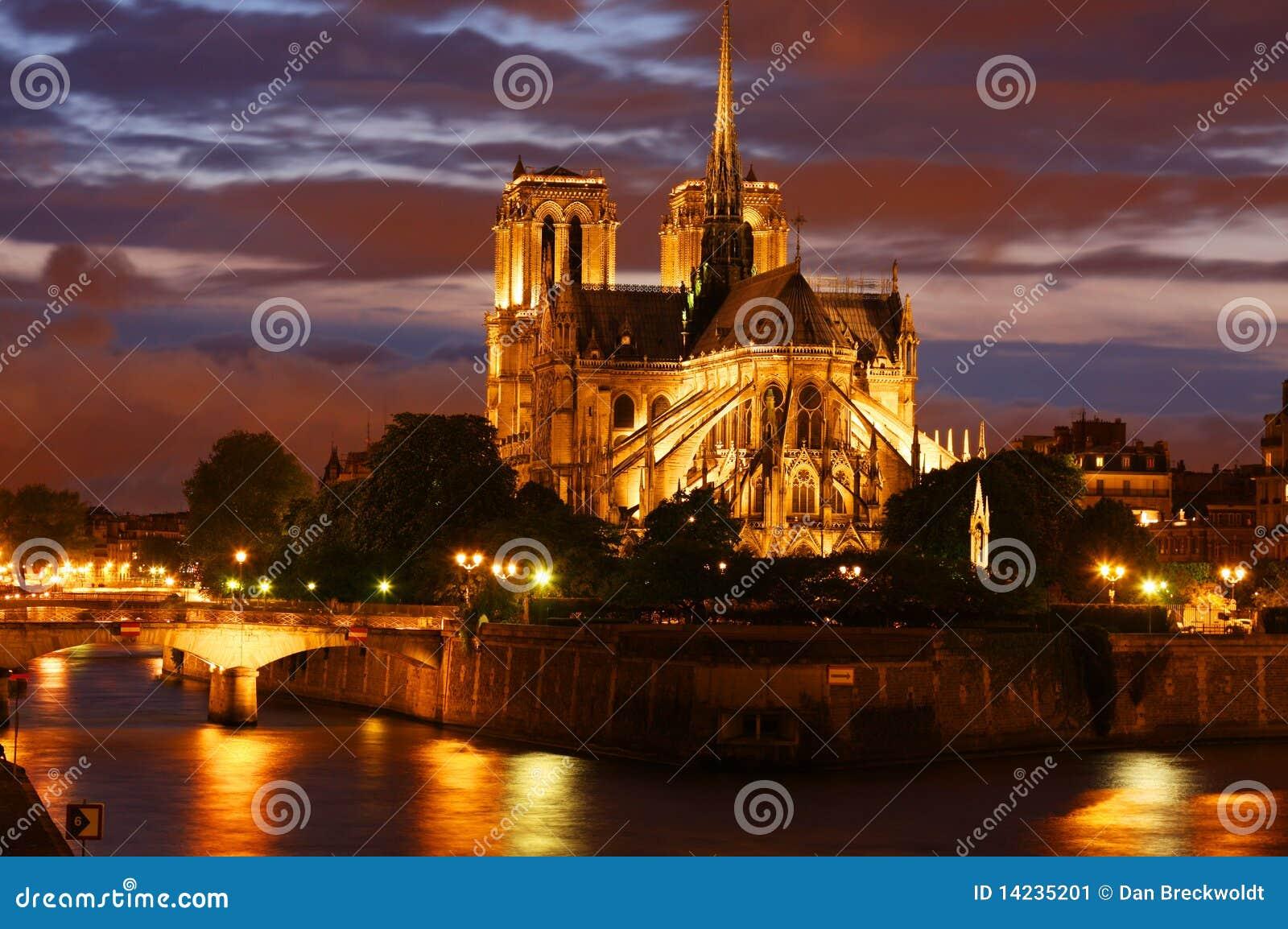 Cathédrale de Notre Dame à Paris