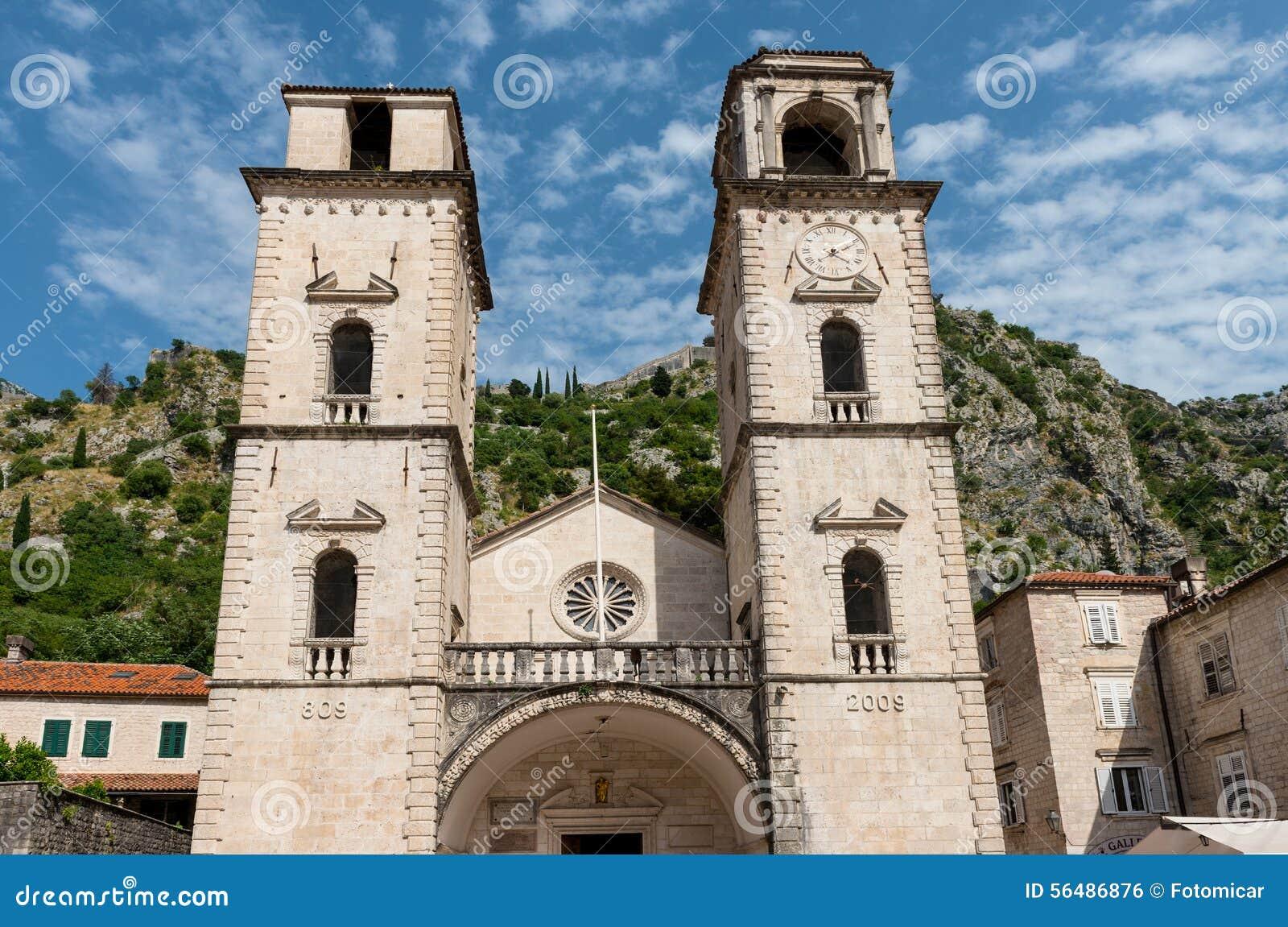 Cathédrale de saint Tryphon dans Kotor