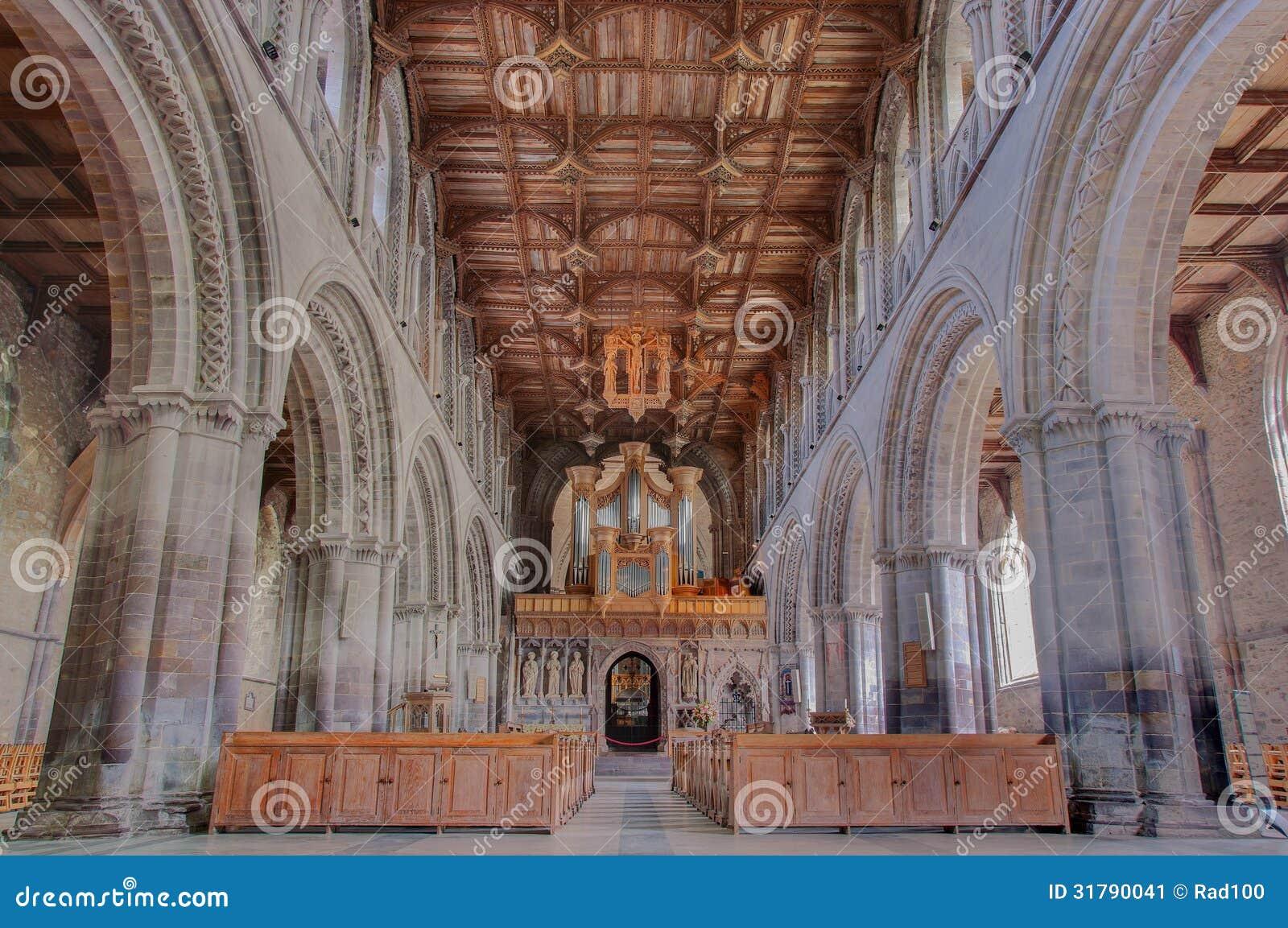 Cathédrale de St Davids, Pays de Galles, R-U