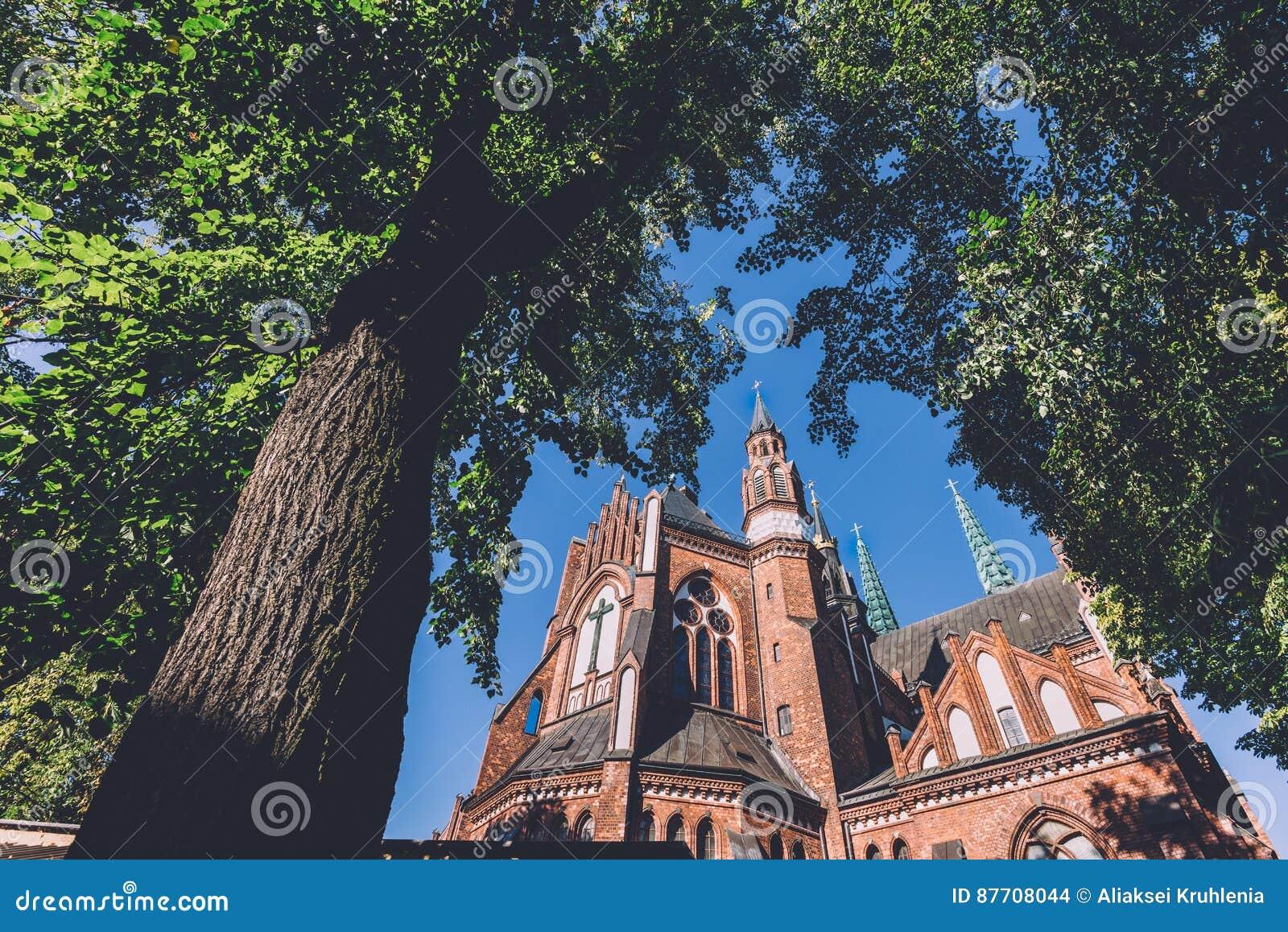 Cathédrale du ` s de St Florian à Varsovie