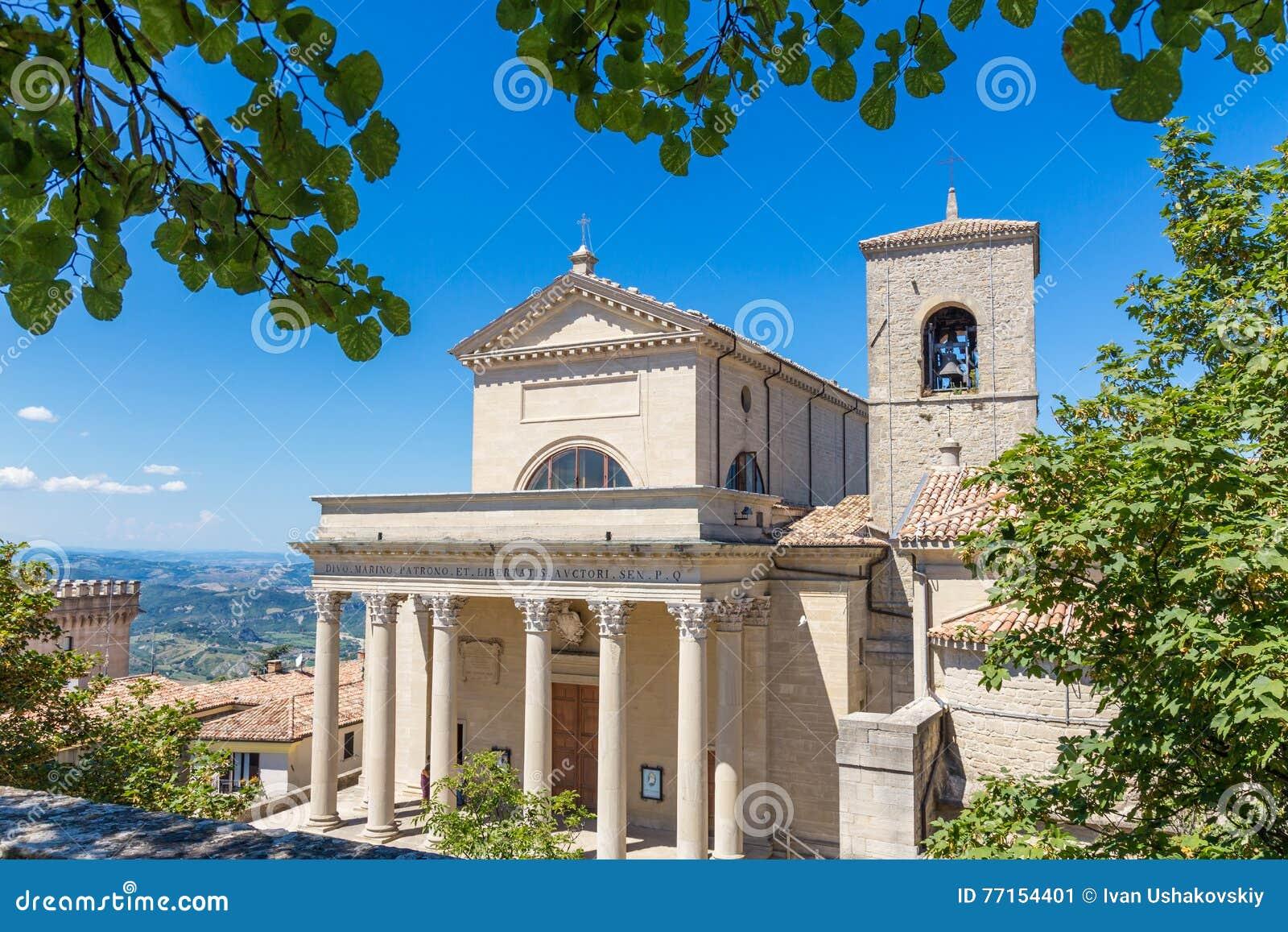 Cathédrale du Saint-Marin, république de San Marino