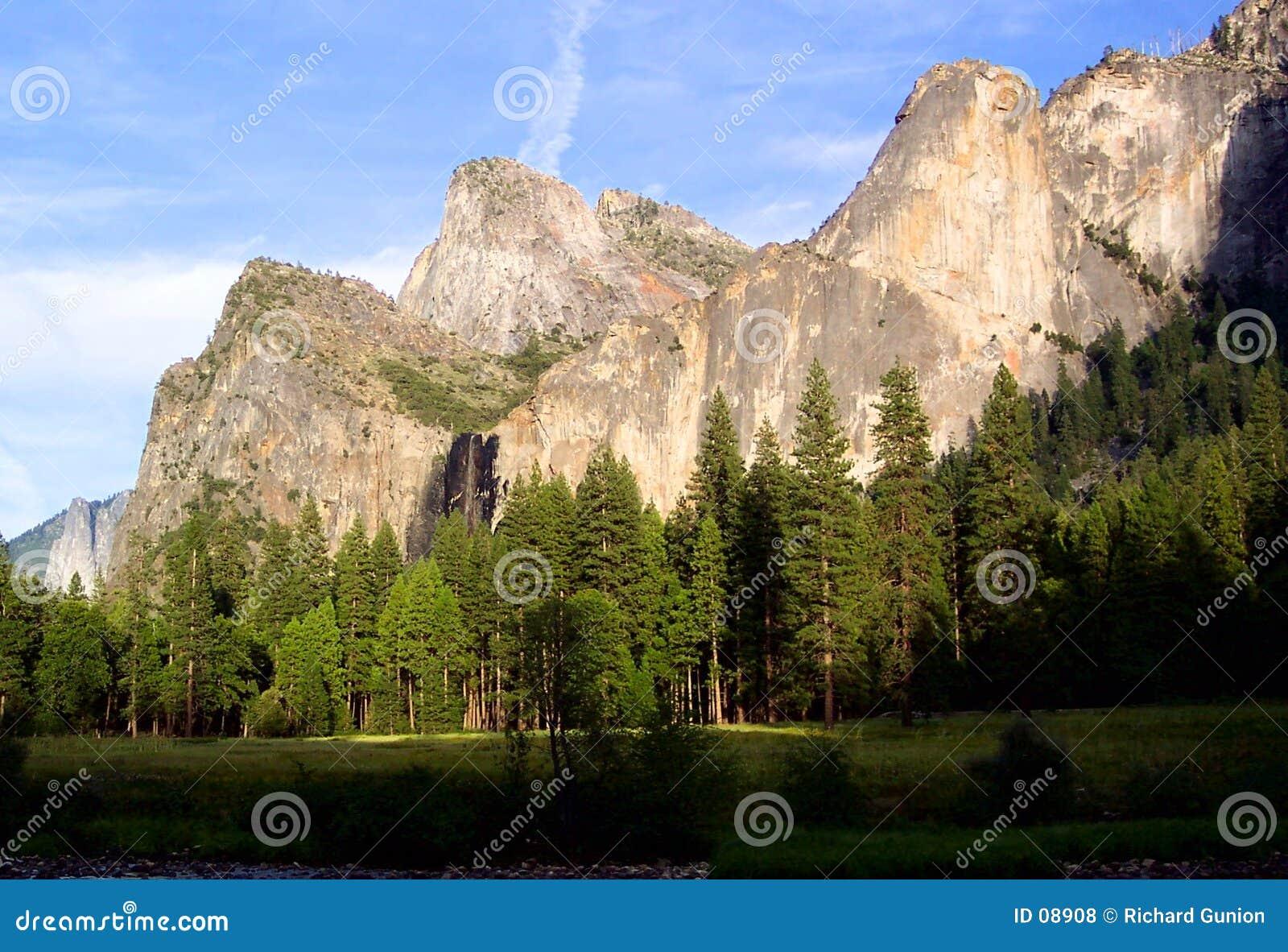 Cathédrale Roche-Yosemite