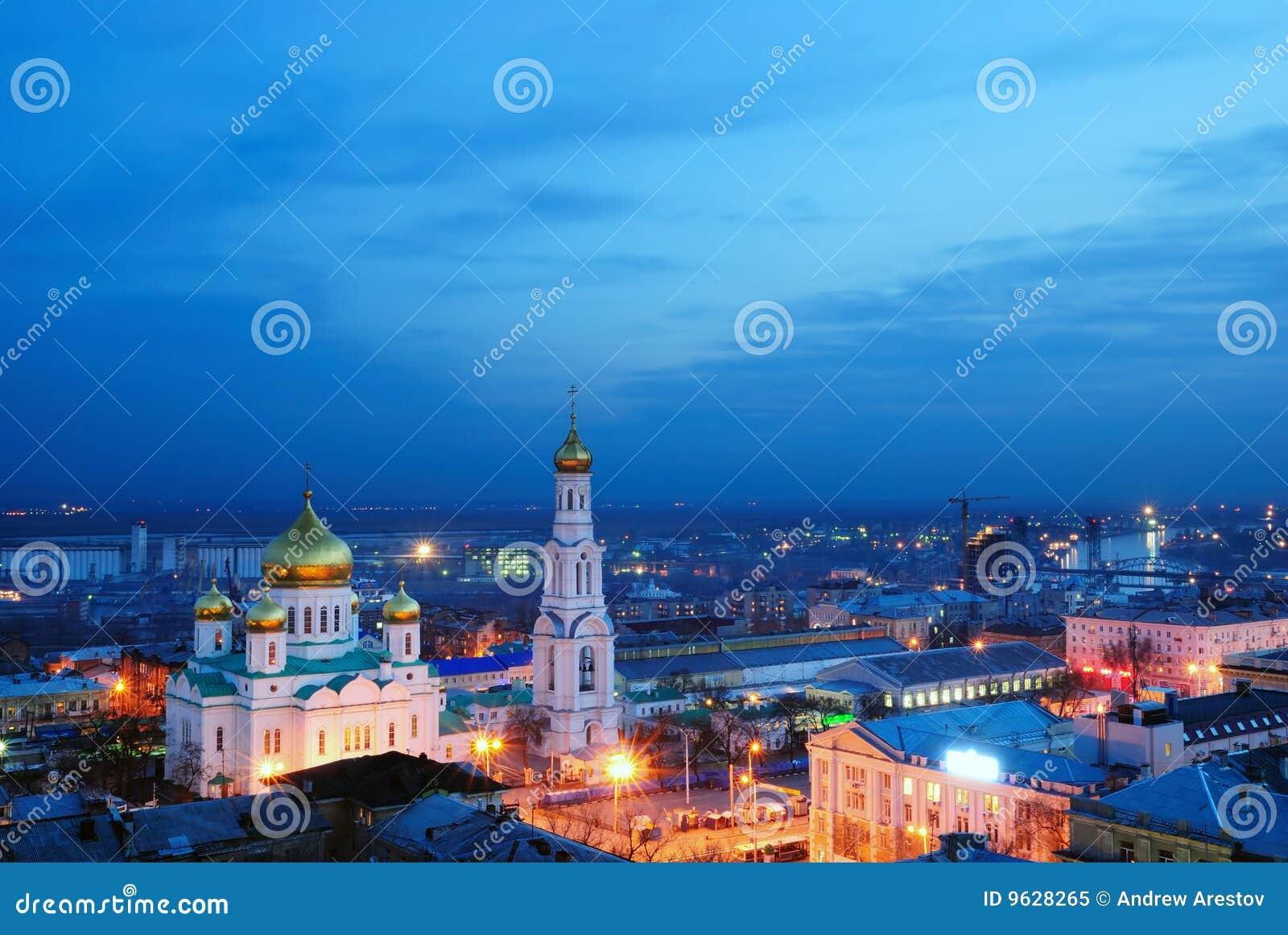 Cathédrale. Rostov-on-Don.