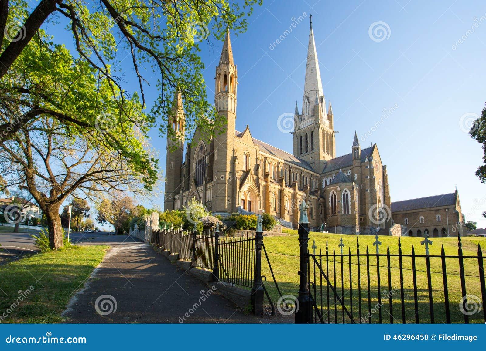 Cathédrale sacrée de coeur dans Bendigo