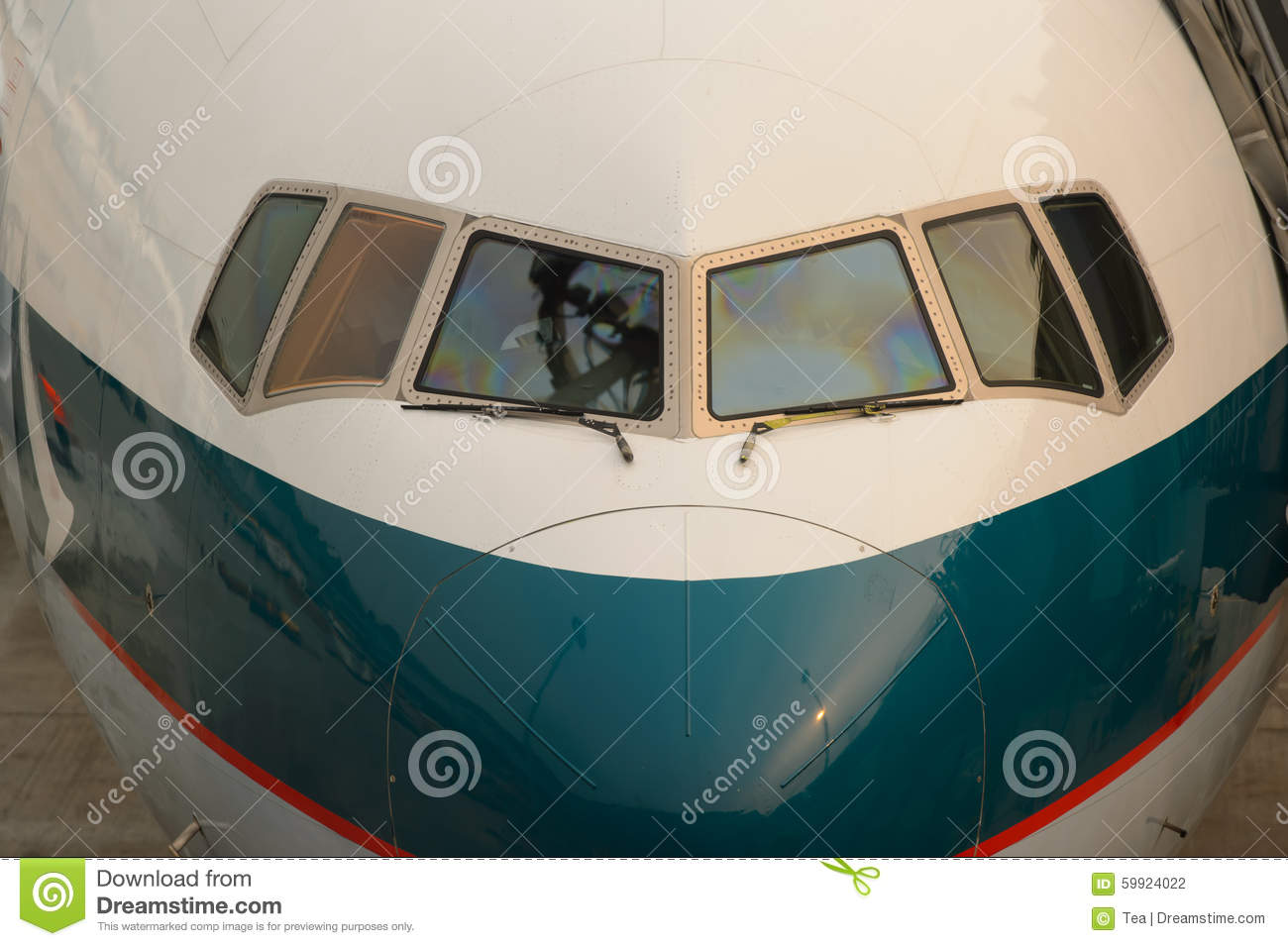 Cathay pacific aircraft near boarding bridge editorial photography image 59924022 - Cathay pacific head office ...