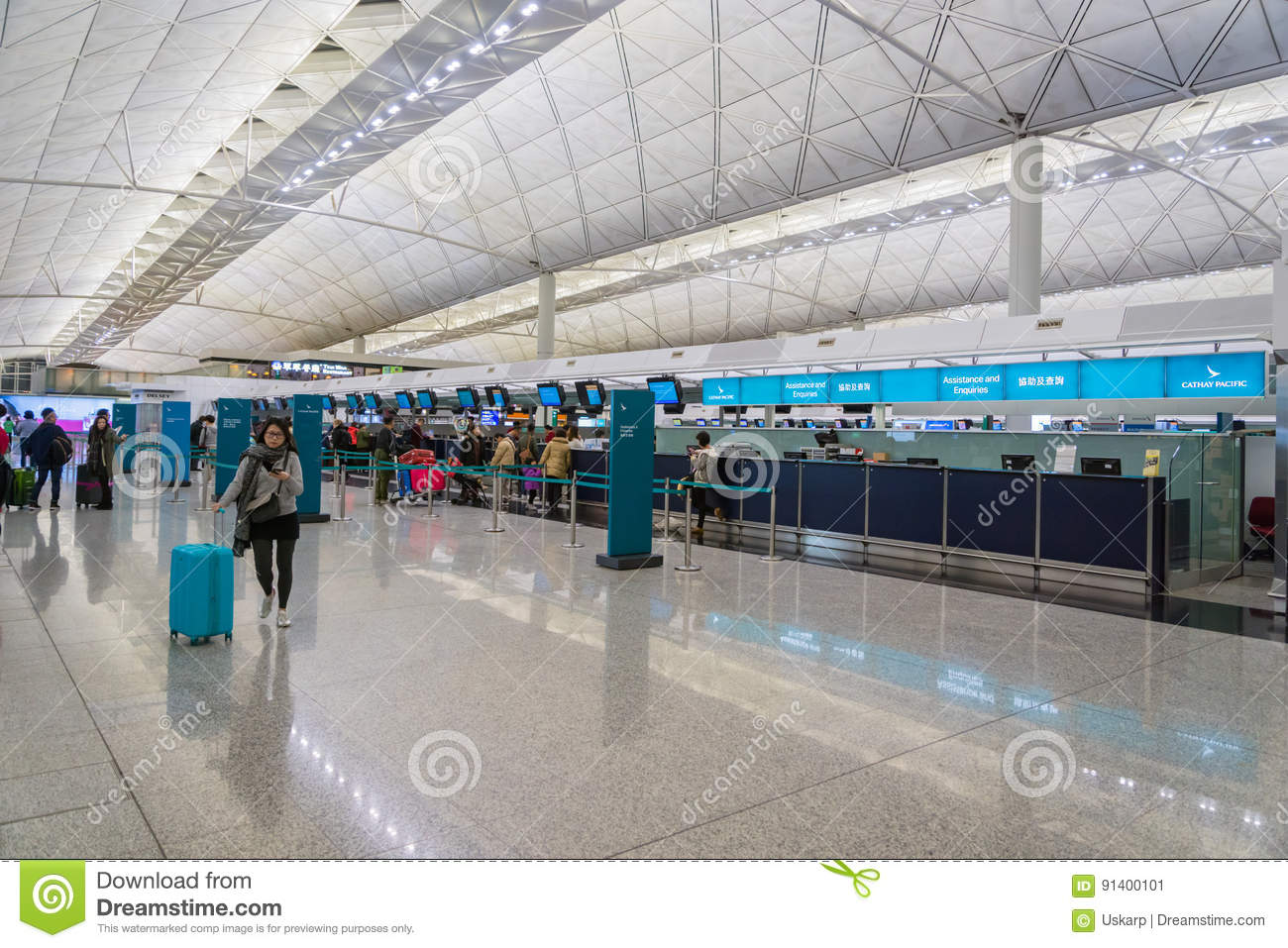 Cathay pacific hong kong terminal