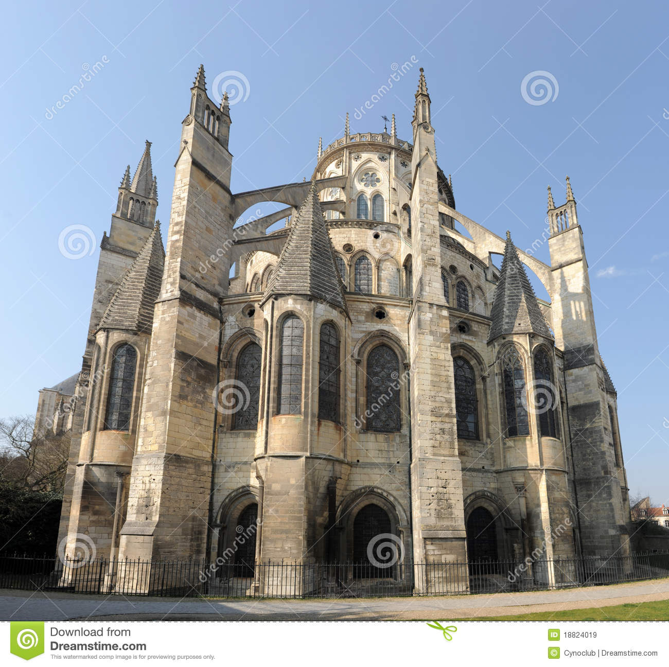 Cathedral of bourges royalty free stock images image 18824019 - Stock industriel bourges ...