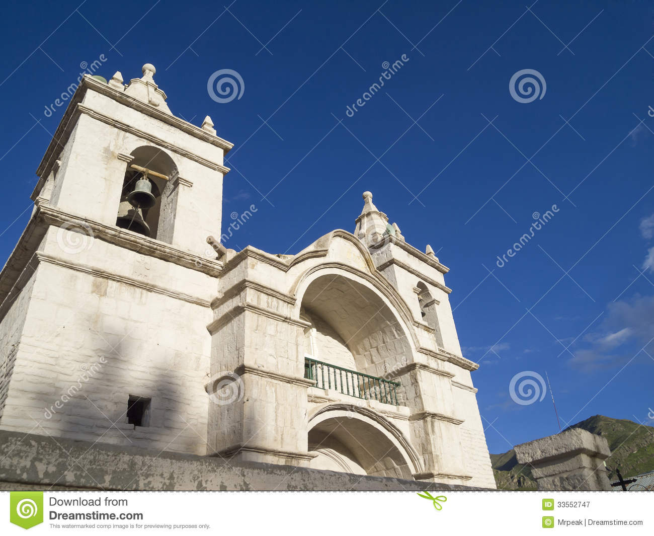 Cathedral of Chivay, Peru