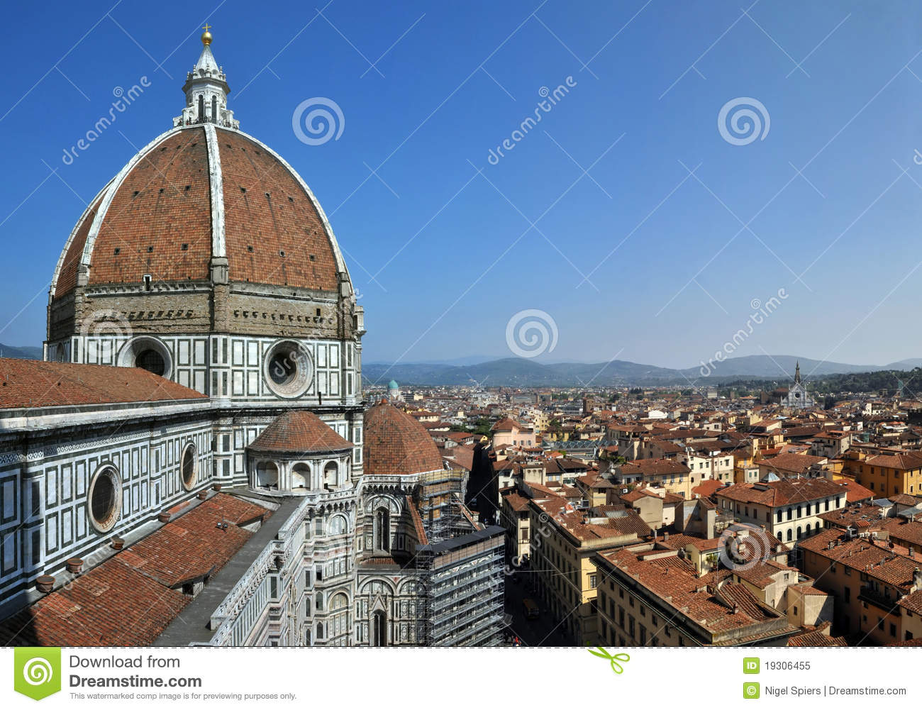 The Cathedral Church Of Florence Italy Duomo Royalty