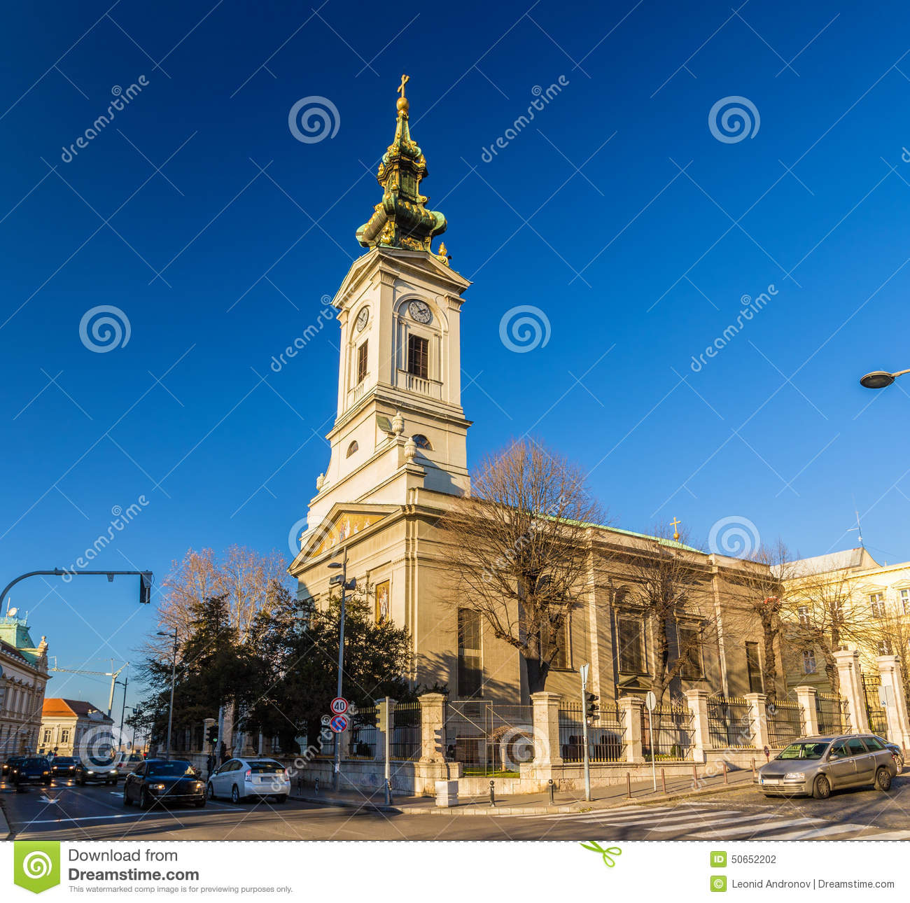 Cathedral Church of St. Michael the Archangel in Belgrade