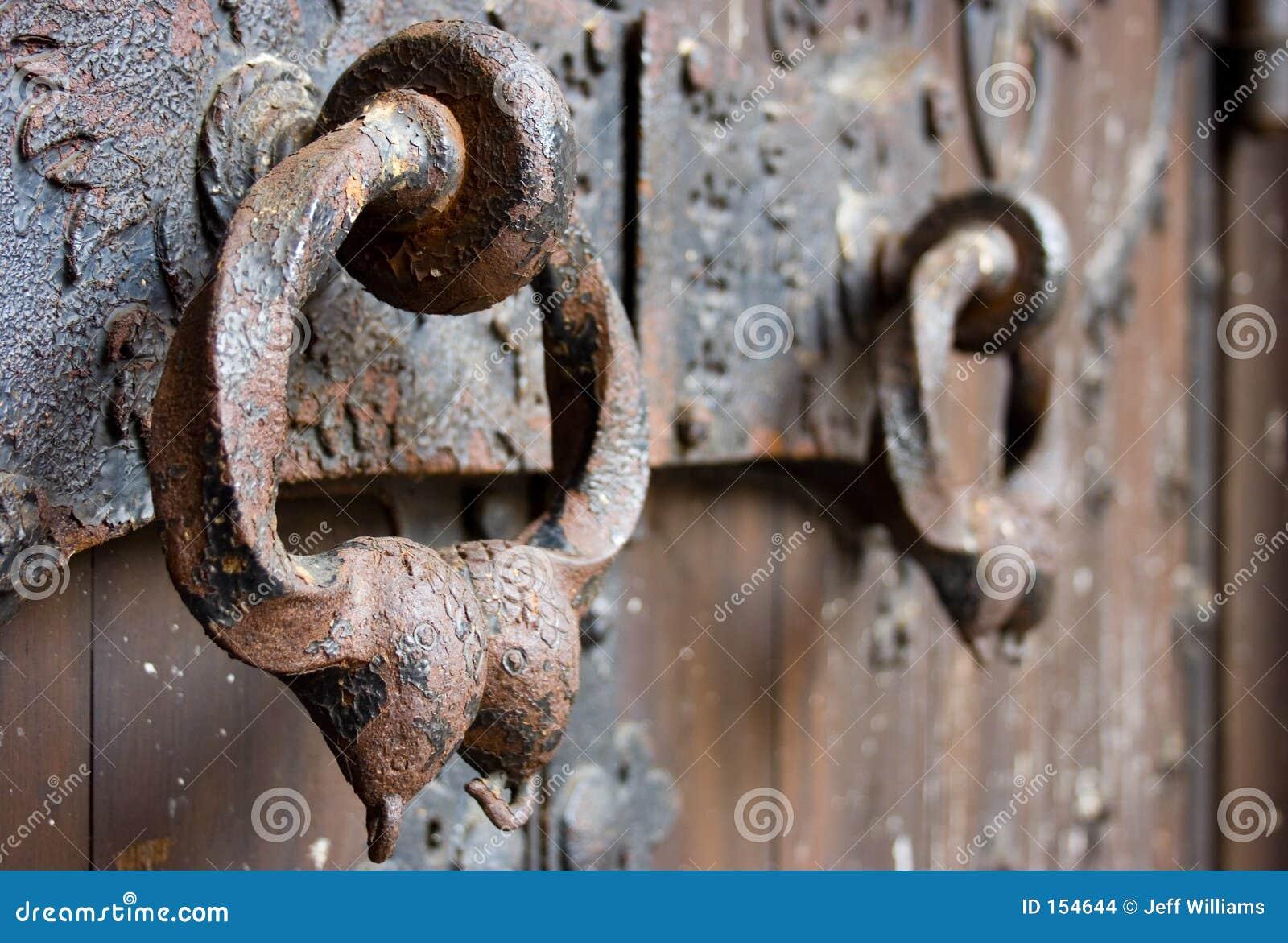 Cathedral Door Knockers